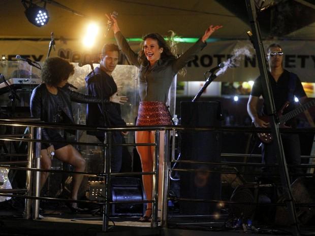 Claudia Leitte faz show em Capitólio, Minas Gerais (Foto: Paduardo/ Ag. News)
