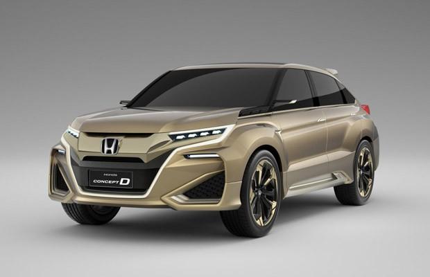 Honda Concept D (Foto: Divulgaçao)