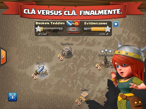 Baixe Clash of Clans, um game de batalhas épicas com estratégia e