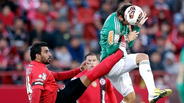 Kleber jogo Palmeiras Tijuana (Foto: AP)