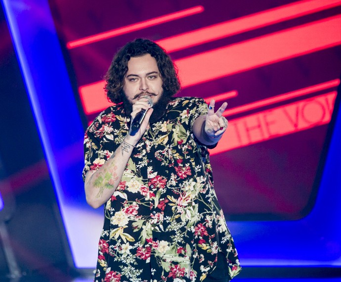 Marcos Matarazzo comemora aprovação no 'The Voice Brasil' (Foto: Isabella Pinheiro/Gshow)
