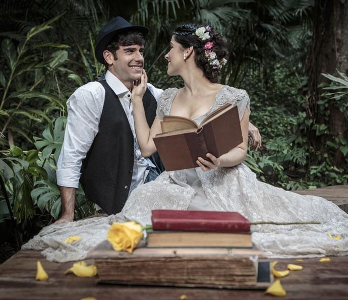 Atores esperam que Shirlei e Felipe tenham um final feliz juntos (Foto: Felipe Monteiro/Gshow)