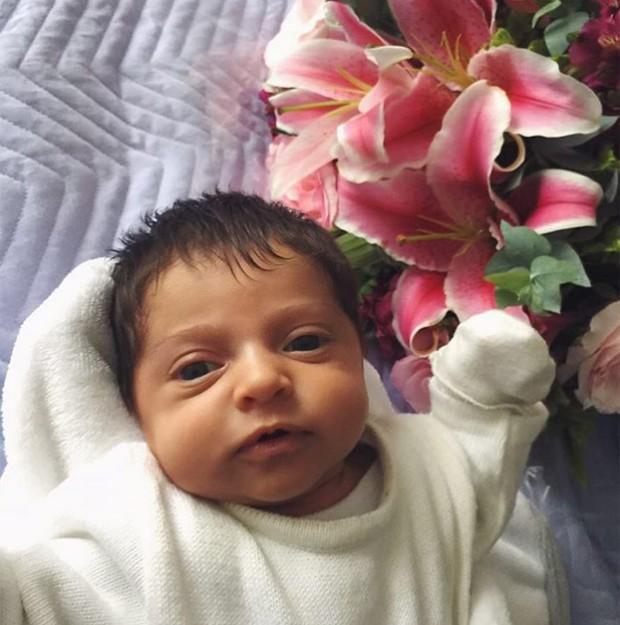 Malena, filha de Jesus Luz (Foto: Reprodução/Instagram)