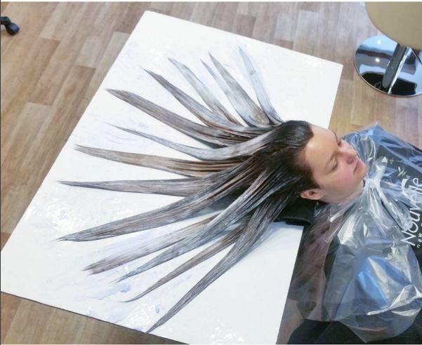 Cabelo de sereia fluid hair painting cria efeito gradual for Fluid hair painting