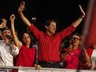 'Sou o 2º poste de Lula', ironiza Haddad (Vagner Campos/G1)