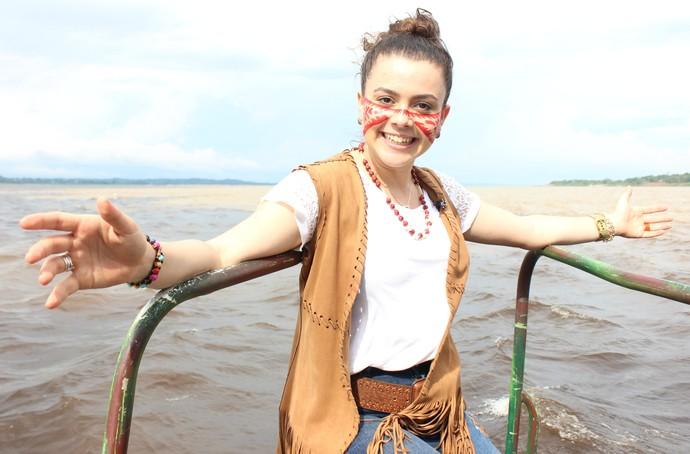 Fernanda Silva namora há três anos e oito meses (Foto: Katiúscia Monteiro/ Rede Amazônica)