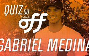 Gabriel Medina é o segundo a encarar o 'Quiz do OFF'