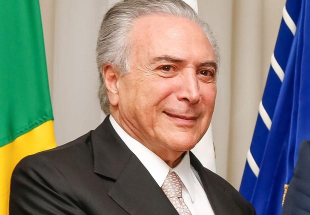 O presidente empossado Michel Temer (Foto: Carolina Antunes/PR)