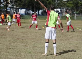 treino União Mogi (Foto: Guilherme Borges/Comunicação União Mogi FC)