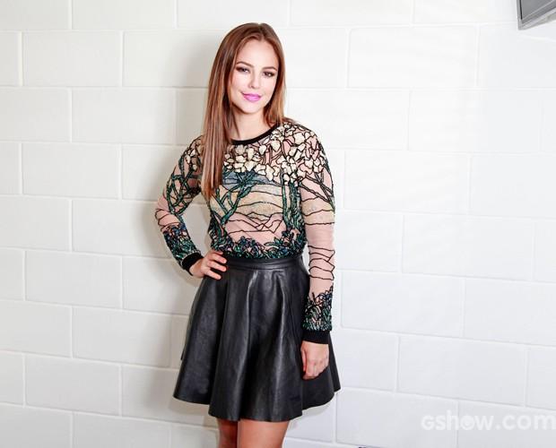 Paolla Oliveira: linda, musa e fofa! (Foto: Ellen Soares / TV Globo)