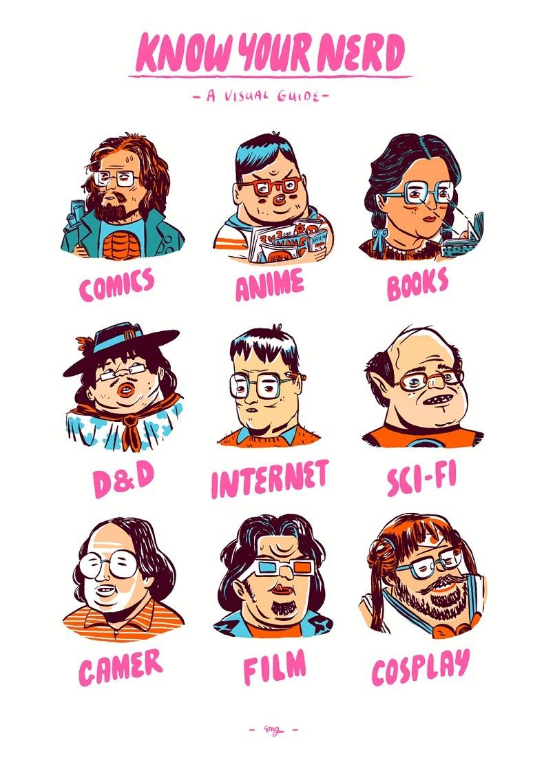 Conheça seu nerd (Foto: Reprodução - Stephen Maurice Graham)