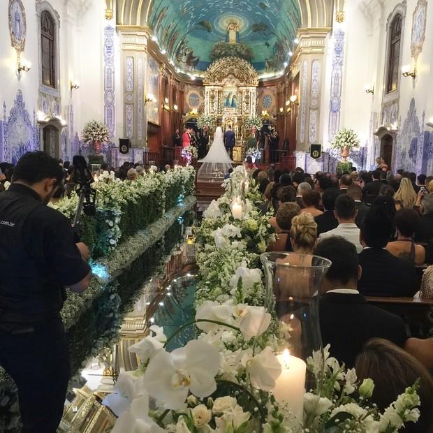 Casamento de Juju Salimeni e Felipe Franco (Foto: Rodrigo / EGO)
