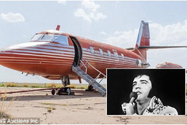 Jatinho particular de Elvis Presley é encontrado após 30 anos (Foto: Divulgação)