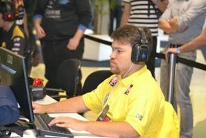 Aderson Jamier, o Potiguar, dá aulas de 'Starcraft II' (Foto: Arquivo Pessoal)