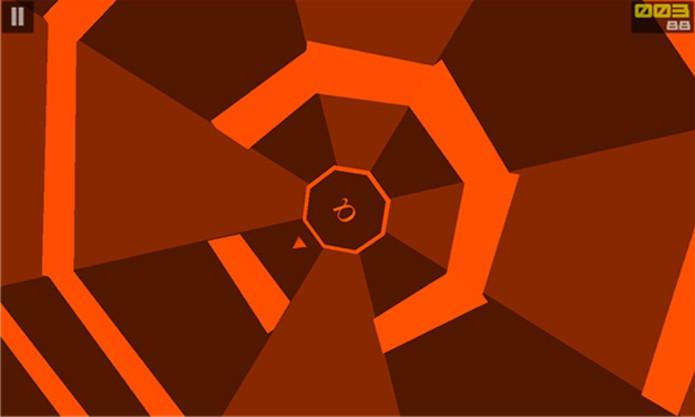 Super Polygon é um difícil jogo para Windows Phone onde ganha quem permanecer mais tempo no campo (Foto: Divulgação/Windows Phone Store)