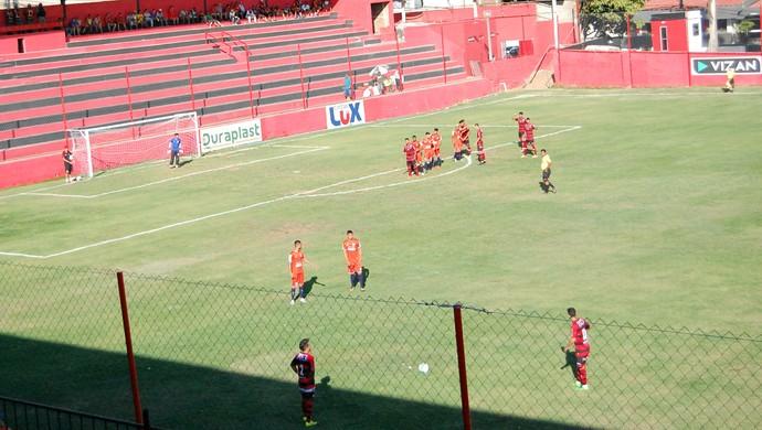 Amistoso do Campinense contra Atlético-PE (Foto: Iago Bruno / GloboEsporte.com/pb)