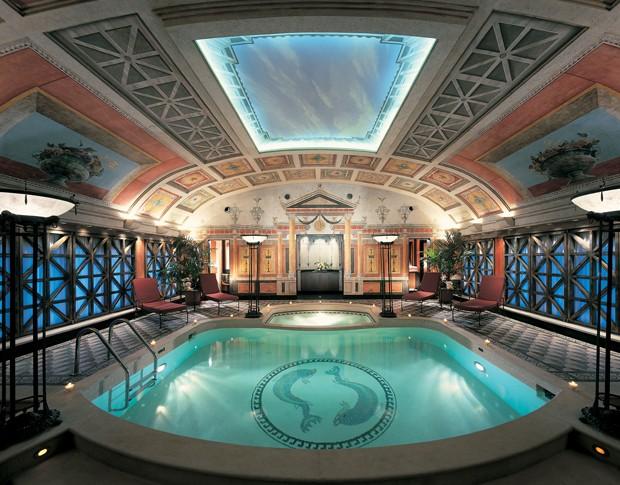 Hotel Principe Di Savoia - Piscina Particular da Suíte Presidential (Foto: Divulgação)