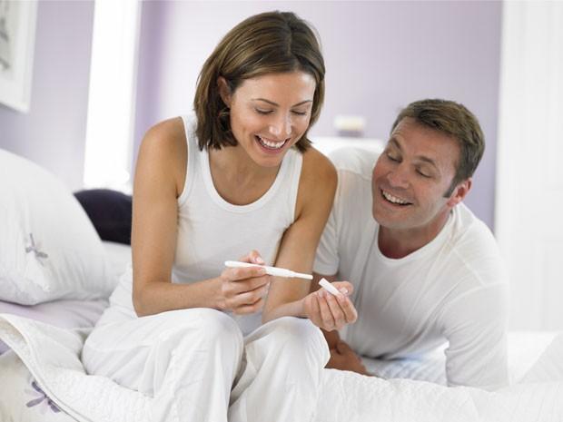 fertilidade casal teste gravidez (Foto: Getty Images)