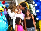 Rodrigo Faro e Vera Viel celebram o primeiro aniversário de Helena