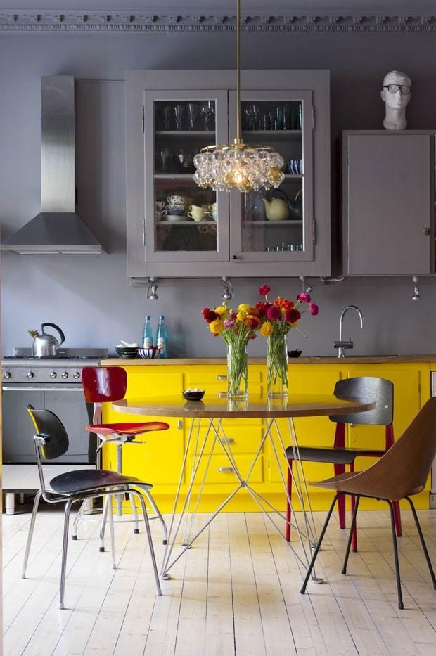 Top 10 salas de jantar amarelas (Foto: divulgação)
