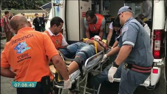 Torcedor que morreu no Morumbi visitava estádio pela 1ª vez