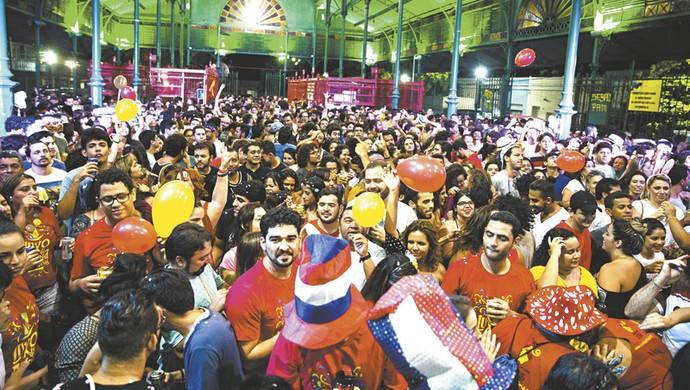 Bloco Luxo da Aldeia; Carnaval; Fortaleza (Foto: Agência Diário)