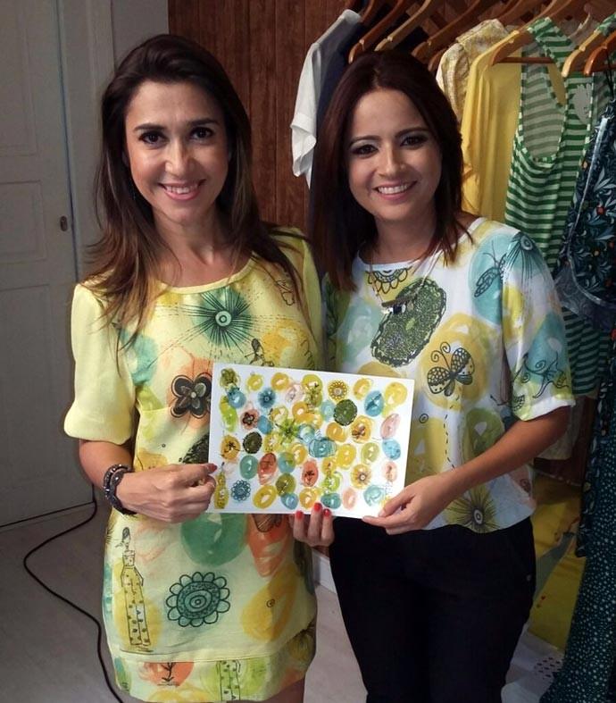 Tendência 'Slow Fashion' também é destaque na reportagem do Programão (Foto: Gshow/Rede Clube)