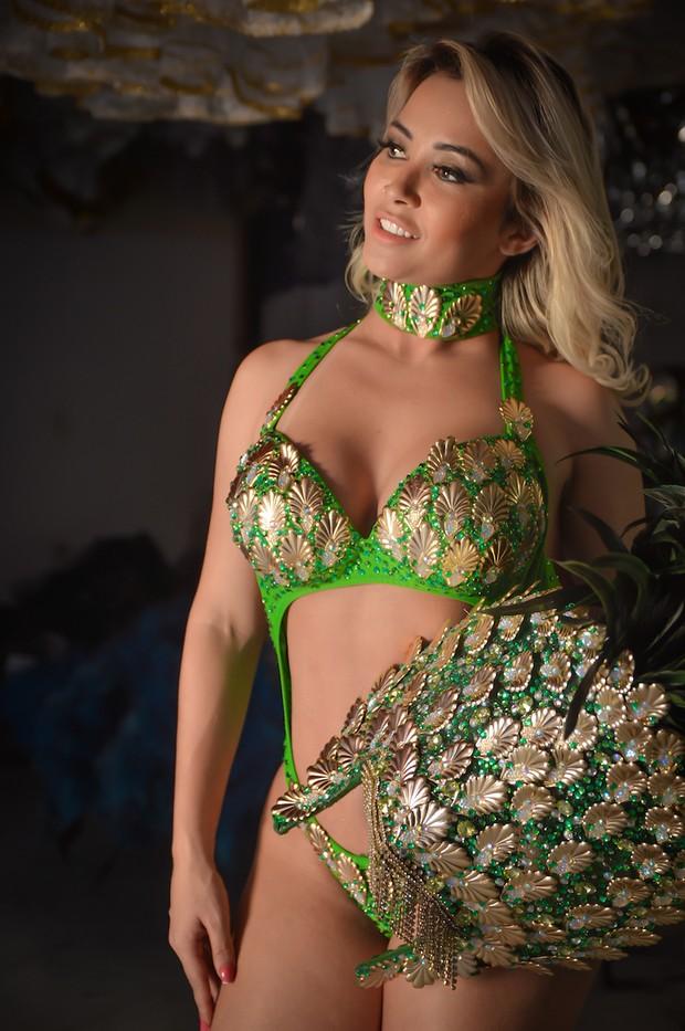 Sheyla Mell, Miss Bumbum México, será musa da Tucuruvi (Foto: Edu Graboski / M2 Divulgação)