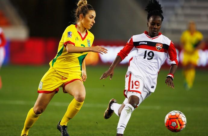 seleção feminina de Trinidad e Tobago 5 x 1 Guiana (Foto: Getty)