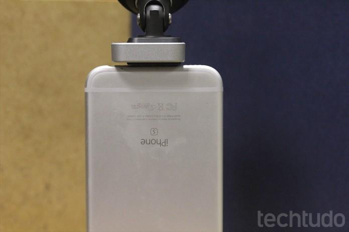Microfone para iPhone da Shure tem solução móvel e profissional para uso com celulares (Foto: Melissa Cruz / TechTudo)