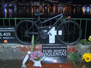 Ciclovia Morte Lagoa Rodrigo de Freitas Rio de Janeiro JG (Foto: Reprodução: TV Globo)