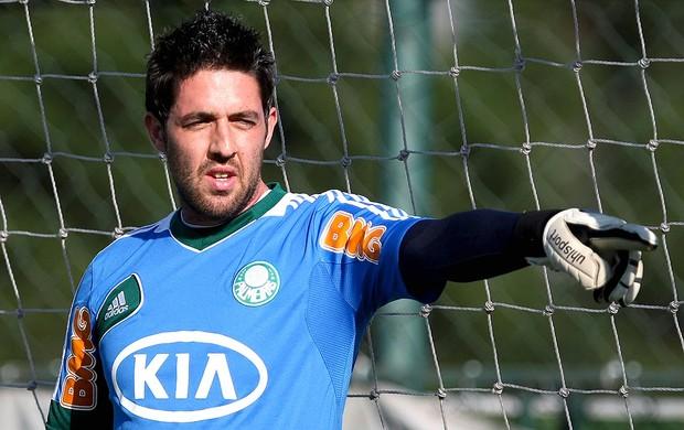 Bruno palmeiras no treino do Palmeiras (Foto: Ag. Estado)
