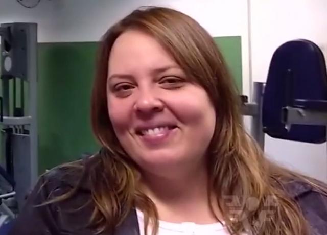 Priscila Marques, ex judoca (Foto: Reprodução/TV Tribuna)