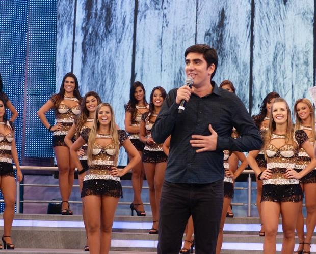 Marcelo Adnet no Domingão do Faustão (Foto: Domingão do Faustão / TV Globo)