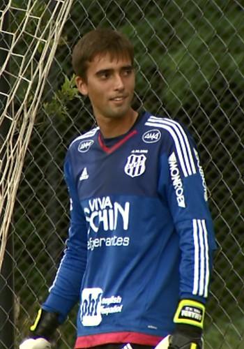César, goleiro Ponte Preta (Foto: Carlos Velardi/ EPTV)