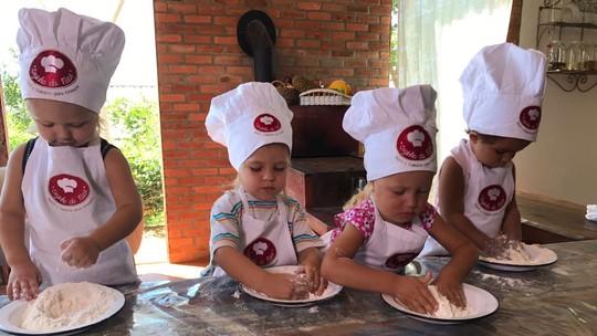 Escola ensina crianças a terem alimentação saudável