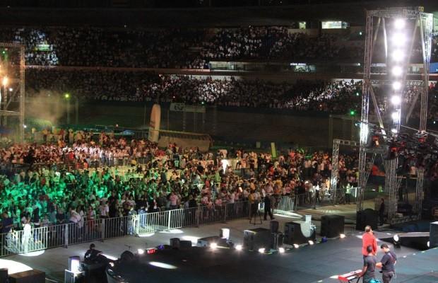 Milhares de pessoas participam do Radicais Livres, em Goiânia (Foto: Renato Conde/ O Popular)