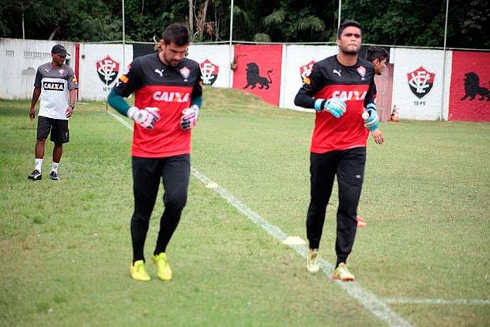 Fernando Miguel e Gustavo; Vitória (Foto: Divulgação/EC Vitória)