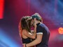 Nicole Scherzinger e Enrique Iglesias sensualizam em show