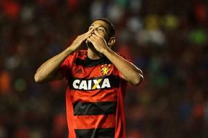 Diego Souza Sport x Vitória Série A (Foto: Marlon Costa / Pernambuco Press)