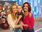 Fernanda Rodrigues comenta talento da filha: 'Adora ficar no palco e aparecer'