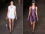 Atriz Laura Neiva desfila no último dia da  25ª edição do Fashion Rio