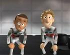 McLaren transforma Hamilton e Button em desenho animado (Reprodução / YouTube)