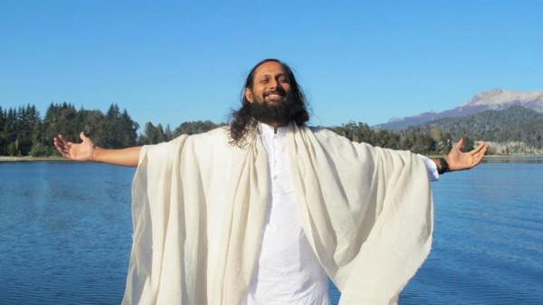 O indiano Swami Parantej (Foto: Divulgação)