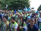 Marcha para Jesus reúne multidão de fiéis no Centro do Rio
