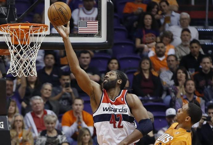 NBA Nenê Washington Wizards Phoenix Suns (Foto: Agência AP)