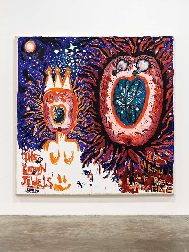 """Galeria The Box, de Mara McCarthy:  """"Danniel valoriza e aprecia a arte e os  artistas"""". Na foto, obra de Judith Bernstein (Foto: Divulgação)"""
