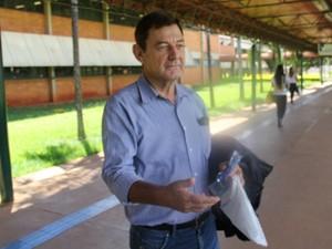 Idoso faz exame da OAB pela 9ª vez e diz que gastou R$ 65 mil com estudos em MS (Foto: Graziela Rezende/G1 MS)