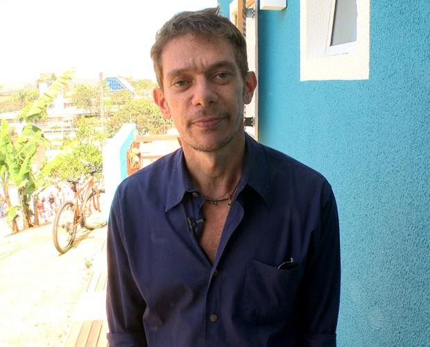 O arquiteto André Piva dá dicas no Lar Doce Lar (Foto: Caldeirão do Huck / TV Globo)