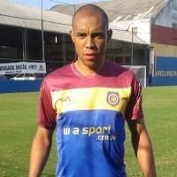 Thiago Cardoso, zagueiro do Madureira (Foto: Luiz Eduardo/FutRio)
